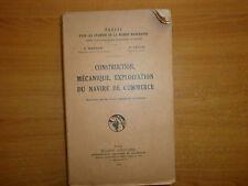 construction, mécanique,exploitation du navire de commerce (25)