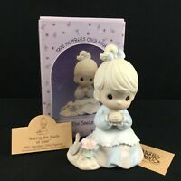 VTG 1992 Precious Moments Figurine Enesco Sowing the Seeds of Love PM922