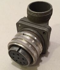 Amphenol Right Threaded AN 3108 20-7S Connector 8-Port Contact Size 22