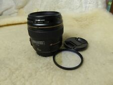 mint condition Canon EF 85mm f/1.8 USM Lens FULL FRAME  + hoya hmc uv(0)