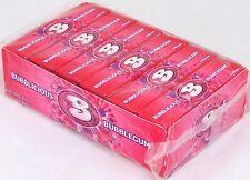 Bubblicious Original Bubble Gum Candy Bulk 1 Box of 18 Count Five Piece Packs