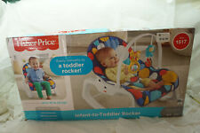 FISHER PRICE INFANT TO TODDLER ROCKER BUBBLE UP BOY BIRTH TO 40 LBS NEW IN BOX