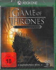 Game of Thrones: A Telltale Games Series-Xbox One-NEUF & neuf dans sa boîte Version Allemande