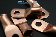 1/0 GAUGE COPPER 5/16 RING 5 PK CRIMP TERMINAL CONNECTOR AWG GA CAR EYE CUR10516