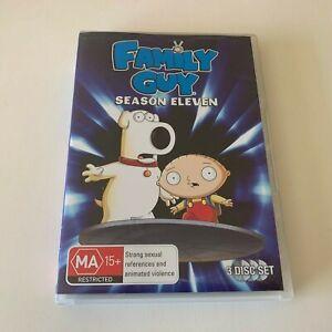 FAMILY GUY Season 11 DVD (Region 4)