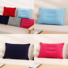 1PC Ultralight Inflatable Air Pillow Cushion Travel Hiking Double Sided Camping