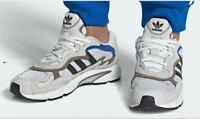 adidas EE7737 Temper Run Men's White Black Casual Lifestyle Sneakers