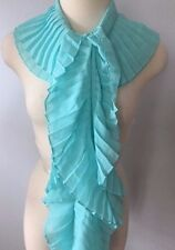White House Black Market Solid Pleated Scarf NWT