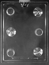 SMALL 3-D CUPCAKE Chocolate Candy Mold LOP-K157