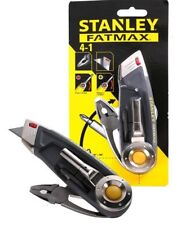 NEW Stanley 4 in 1 Multi Purpose Utility Knife folding backpack pocket survival