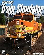 Microsoft Train Simulator (PC, 2001) 2 DISCS AND FOLDER -FREE SHIPPING IN USA!