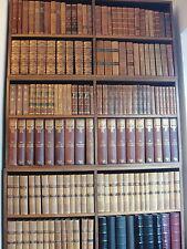 VECCHIO Vintage in Pelle Display Libro Pesante 10 in (ca. 25.40 cm) ad alta larghezza 2 in (ca. 5.08 cm)