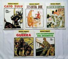 Lot BD - 5 Totem-Comics / HUGO PRATT / EO 1990 / ESPAGNOL