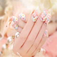 GEL For Wedding Flower False Nail Manicure Tool Nail Art Carved Pearl Design