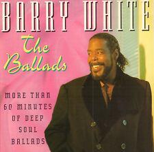 BARRY WHITE - THE (DEEP SOUL) BALLADS (1995 DUTCH COMPILATION CD)