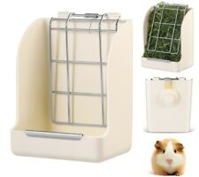 Us Hay Feeder Less Wasted with Hay Rack Manger for Rabbit Guinea Pig Chinchilla