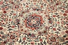 Vintage Hand Knotted Chinese Asian Wool Area Rug Round 6' x 6'