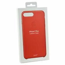 """Apple Genuino Cuero Estuche Cubierta para iPhone 7 & iPhone 8 5.5"""" Plus-Rojo Plus"""