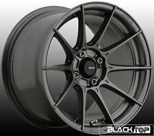 Advanti Storm-S1 Wheels 15x9 4x100 +35 Offset Matte Grey Rims