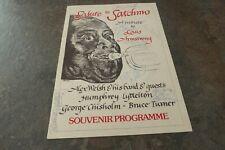 Salute to Satchmo 1977 Souvenir Programme Signed Autographed Lyttleton Welsh Etc