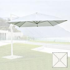 paramondo Telo di Ricambio incl Bianco 3 x 3 m//Quadrato Air Vent per Ombrellone da Giardino Interpara