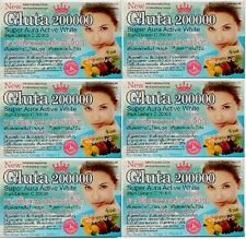 6 Boxes Gluta 200000 Softgel Q10 Whitening Glutathione + Collagen Omega3 Vit E