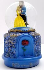 Disney Beauty And The Beast The Broadway Musical Snow Globe Iridescent Snowglobe