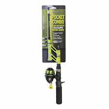 New Steinhauser Pocket Fishing Rod Combo Micro Series Green PCMSG18