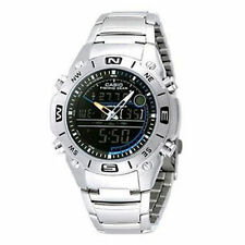 Stainless Steel Case Men's Sport Wristwatches with Backlight