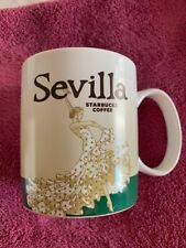 STARBUCKS CITY MUG SEVILLA SPAIN - NEW