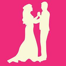 Fairydust Stencils & Masks - Wedding Couple Mask
