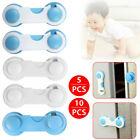 5/10 Child Baby Cupboard Cabinet Safety Locks cabinet Door Drawer Safety Lock UK