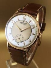 VINTAGE BREITLING HAND WINDING 2 TONE DIAL 1950 GREAT CONDITION WristWatch