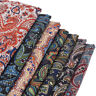 Retro Paisley Cashew Flower Printed Fabric Calico DIY Sewing Cloth Accessories
