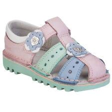 Chaussures roses Kickers pour fille de 2 à 16 ans