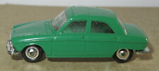I old made in france 1966 micro norev oh 1/87 peugeot 204 dark green #532