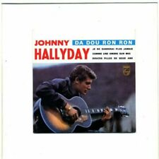 "CD ""Johnny Hallyday"" da Dou Ron 4 Titel Neu Versiegelt"