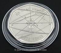 2017 Sir Isaac Newton 50p Fifty Pence Proof Coin - Royal Mint