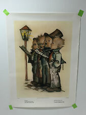 VINTAGE GOEBEL COLLECTORS CLUB EXCLUSIVE HUMMEL PRINT - HARMONY IN FOUR PARTS