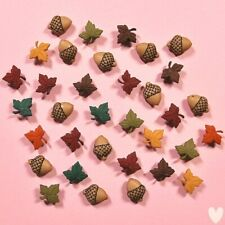 DRESS IT UP Buttons Fall Medley 1193 - Autumn Embellishments
