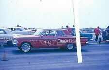 """1960s NHRA Drag Racing-TASCA FORD-'62 406 Fairlane-A/FX-""""Challenger II"""""""