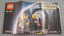 New LEGO Star Wars Set 7201 Final Duel 11 INSTRUCTION MANUAL ONLY