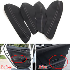 For Honda Civic10th 16-17 Car 4 Door Armrest Leather Surface Shell COVER Trim