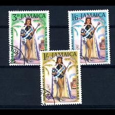 JAMAICA 1964 Miss World. SG 214-216. Fine Used. (AR607)