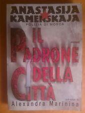 ALEXANDRA MARININA - IL PADRONE DELLA CITTA' - PIEMME 1998 - LIBRO ROMANZO
