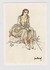 JUILLARD. Carte Postale. Couverture de LDC Eté 1998. Carte signée par Juillard