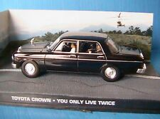 TOYOTA CROWN YOU ONLY LIVE TWICE JAMES BOND 007 1/43