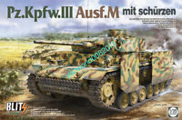 TAKOM 8002 1/35 Pz.Kpfw.III Ausf.M mit schurzen BLITS BY TAKOM 2020