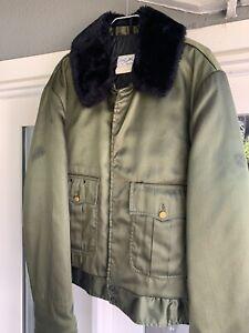 Capitol Uniforms Sheriff Police Uniform Duty Jacket Coat Size 46R Green Vintage