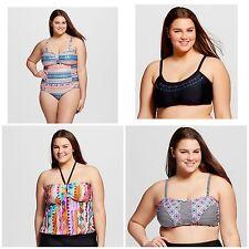 30 Piece Women's Plus Size Swimwear Swim Heart & Harmony Lot Wholesale 1X 2X 3X